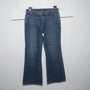 Ralph lauren wide leg womens jeans size 12 S 1427